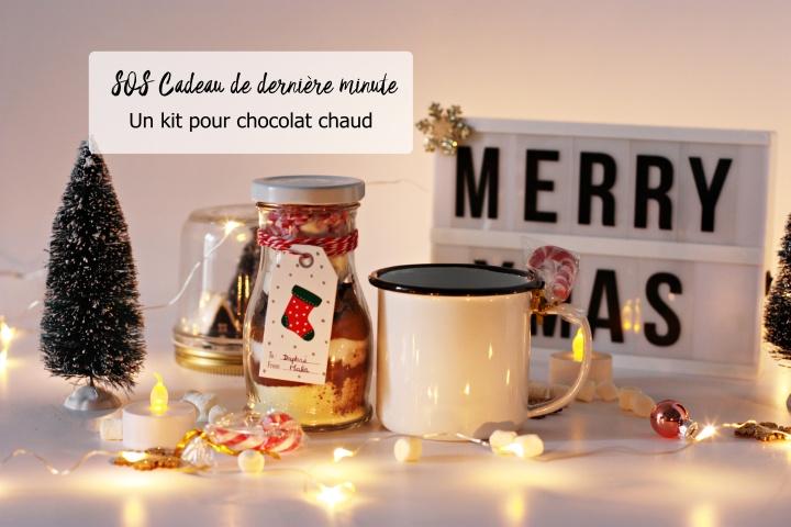 DIY SOS cadeau de dernière minute : un kit pour chocolatchaud