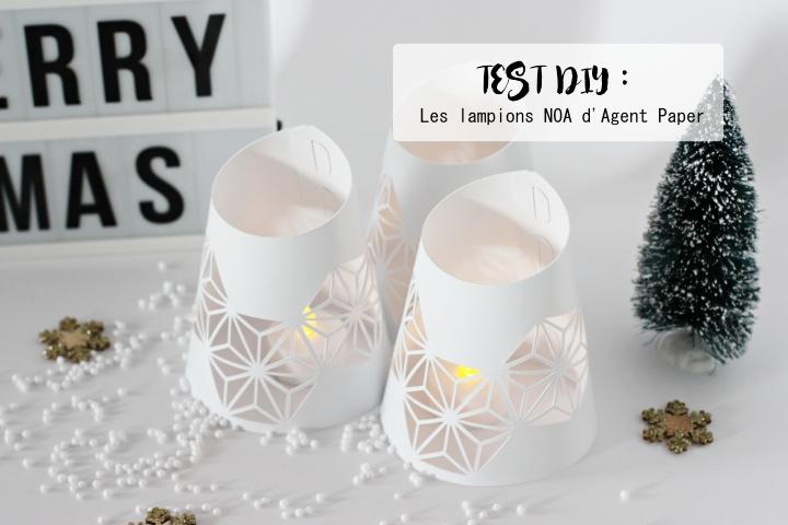 Test DIY : les lampions d'AgentPaper
