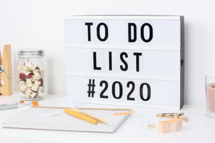 TO DO LIST 2020